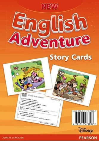 New English Adventure 2 Story cards - Worrall Anne