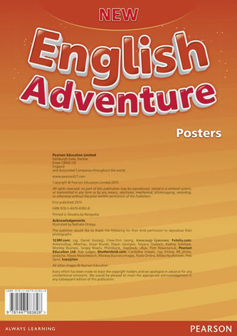 New English Adventure 2 Posters - Worrall Anne