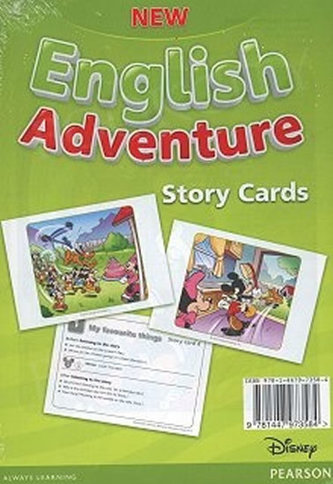 New English Adventure 1 Story cards - Worrall Anne