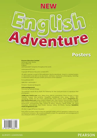 New English Adventure 1 Posters - Worrall Anne