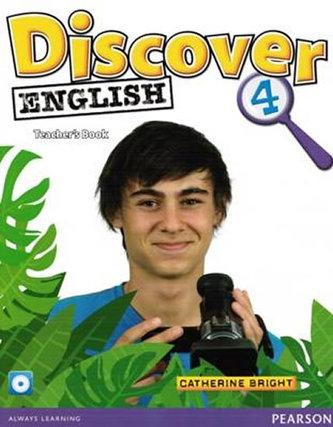 Discover English 4 Teachers Book - Bright Catherine, Kilbey Liz, Tetiurka Małgorzata
