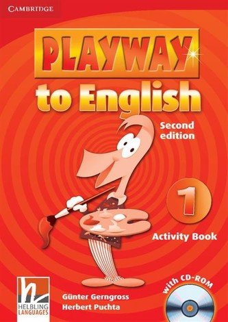 Playway to English 2e 1: Activity Book with CD-ROM - Gerngross, Günter