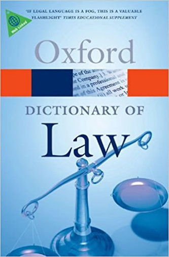 Oxford: Dictionary of Law - neuveden