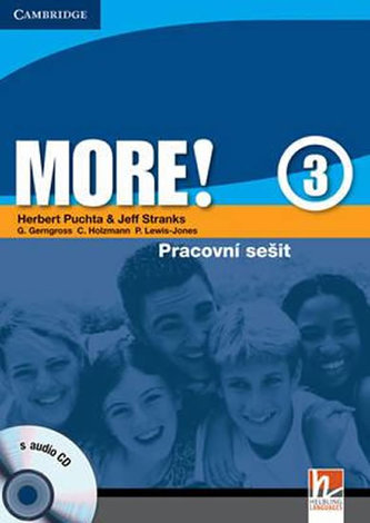 More! Level 3 Workbook with Audio CD Czech Edition: Level 3 - Puchta Herbert, Stranks Jeff,
