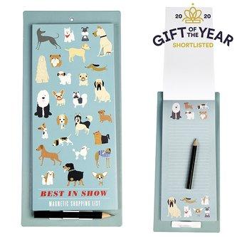 Rex London Nákupní seznam na lednici s magnetem Dogs