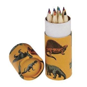 Rex London Sada pastelek Dinosauři 12 ks