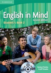 English in Mind 2e 2: Student´s Book + DVD-ROM