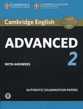 Cambridge English Advanced 2 Student´s Book with Answers and Audio : Authentic Examination Papers