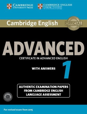 Cambridge English Advanced 1 for exam from 2015: Self-study pk (SB with answers & Audio CDs (2)) - neuveden