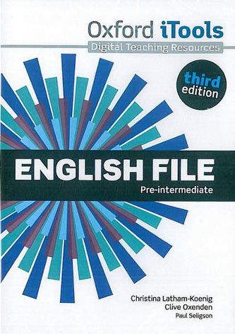 English File Third Edition Pre-intermediate iTools DVD-ROM - Christina Latham-Koenig