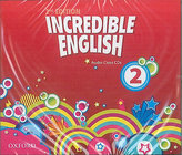Incredible English 2nd Edition 2 Class Audio 3 CDs