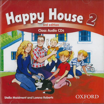 Happy House 3rd Edition 2 Class Audio CDs - Maidment Stella