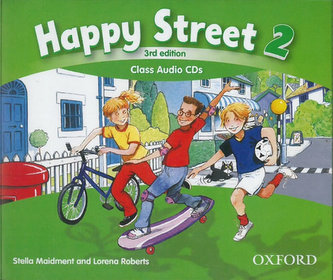 Happy Street 3rd Edition 2 Class Audio 3 CDs - Maidment Stella