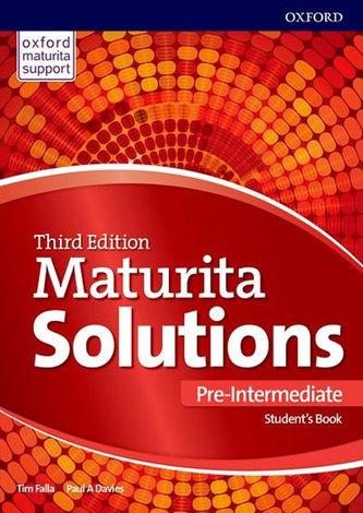 Maturita Solutions, 3rd Edition Pre-Intermediate Student´s Book (Slovenská verze) - Tim Falla