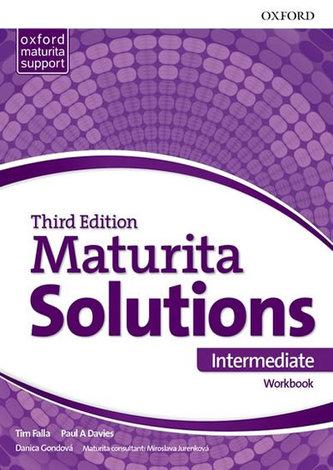Maturita Solutions, 3rd Edition Intermediate Workbook (Slovenská verze) - Tim Falla