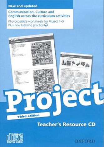 Project the Third Edition 1 - 5 Teacher´s Resource CD-ROM - Tom Hutchinson