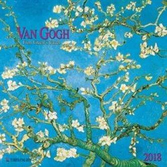 Nástěnný kalendář - Van Gogh - From Vincent´s Garden 2018