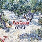 Nástěnný kalendář - Van Gogh 2018