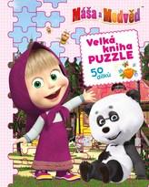 Máša a medvěd - Velká kniha puzzle