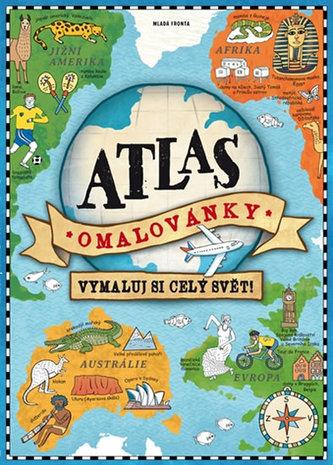 Atlas omalovánky - Vymaluj si celý svět! - neuveden