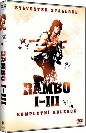 Rambo 1-3 - DVD - neuveden