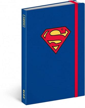 Diář 2018 - Superman, týdenní, 10,5 x 15,8 cm - neuveden