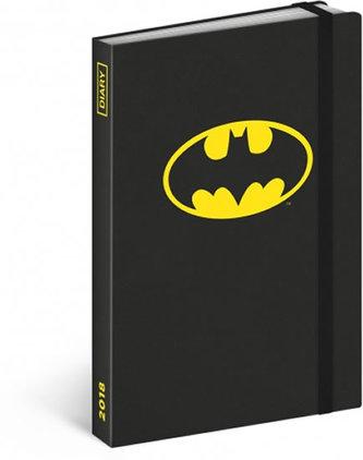 Diář 2018 - Batman, týdenní, 10,5 x 15,8 cm - neuveden