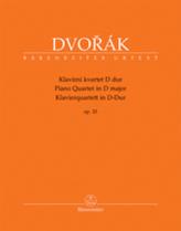 Klavírní kvartet D dur op. 23