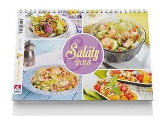 Saláty - stolní kalendář