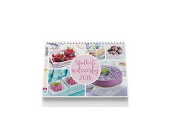 Sladkosti a dezerty - stolní kalendář