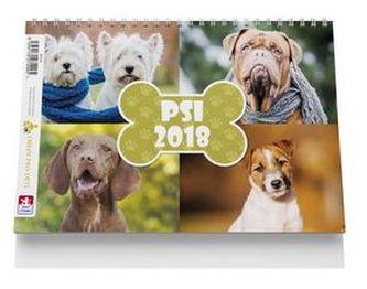 Psi - stolní kalendář