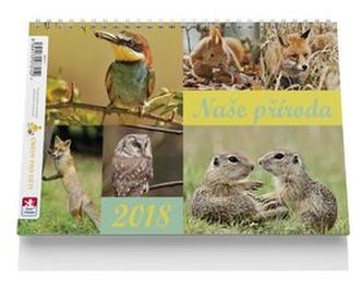 Naše příroda - stolní kalendář