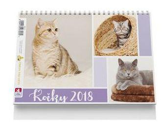 Kočky - stolní kalendář