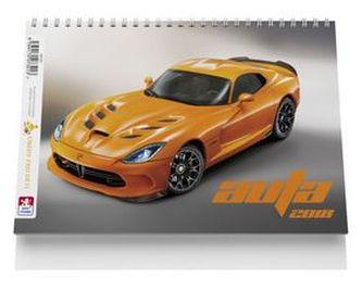 Auta - stolní kalendář