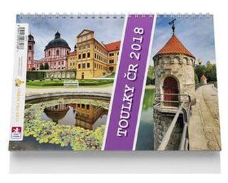 Toulky ČR - stolní kalendář