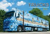 Trucks 2018 - nástěnný kalendář
