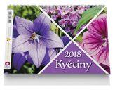 Květiny - stolní kalendář