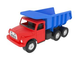 Tatra 148 červeno - modrá 30 cm