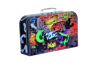 Kufřík Grafiti 35 cm