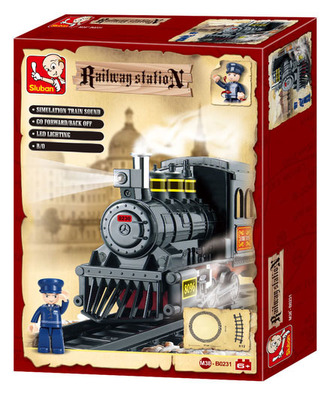 Stavebnice Parní lokomotiva