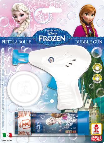 Bublifuková pistole Frozen + bublifuk 60 ml