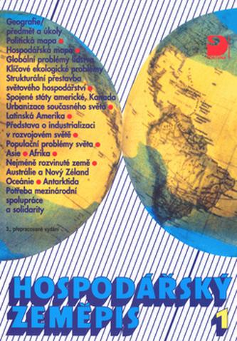 Hospodářský zeměpis 1, pro obchodní akademie a ostatní střední školy - Náhled učebnice