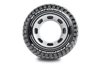 Kruh pneumatika nafukovací 114 cm v krabici 9+