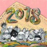 Lichožrouti: Rodinný plánovací kalendář 2018