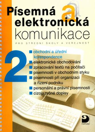 Písemná a elektronická komunikace 2 - Náhled učebnice