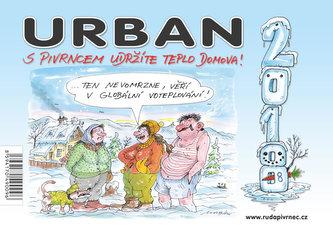 Kalednář Urban - S Pivrncem udržíte teplo domova! 2018 - Petr Urban