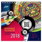 Rodinný kalendář s omalovánkami a hudbou 2018