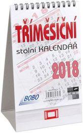 Tříměsíční stolní kalendář 2018