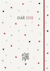A Cup of Style Motivační diář 2018