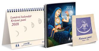 Lunární kalendář Krásné paní 2018 - Kanyzová Žofie